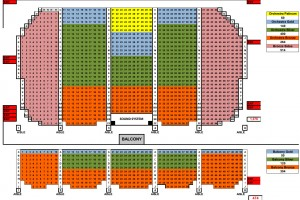 Copernicus Center | Theater | Seating Chart | 10-13-2015