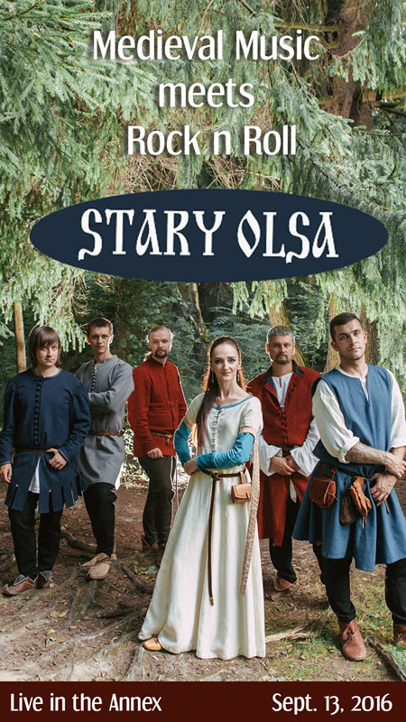 Stary Olsa, стары ольса, medieval music, Stary Olsa concert, Chicago, renaissance, medieval rock, concert, Belarus, Belarusian, 9-13-2016, September events, chicago events, stary olsa tickets, copernicus center