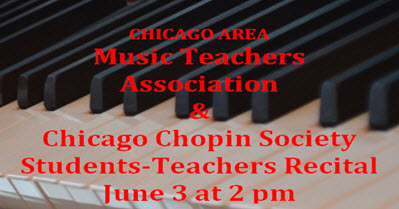 student recital, live concert, piano concert, chicago family events, Copernicus center, June 3, student teacher recital, Chopin society, Chicago Chopin Society, jaroslaw Golembiowski, Chicago Area Music Teachers Association, CAMTA, piano recital, student concert, 2018