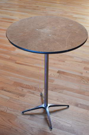 Table - High Unfinished Top