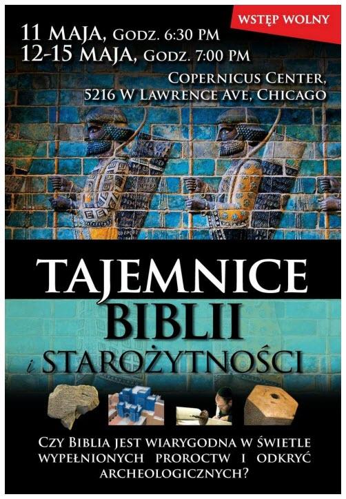 Tajemnice BiblII Maj 11-15