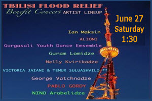 Tbilisi Flood Relief Benefit Concert