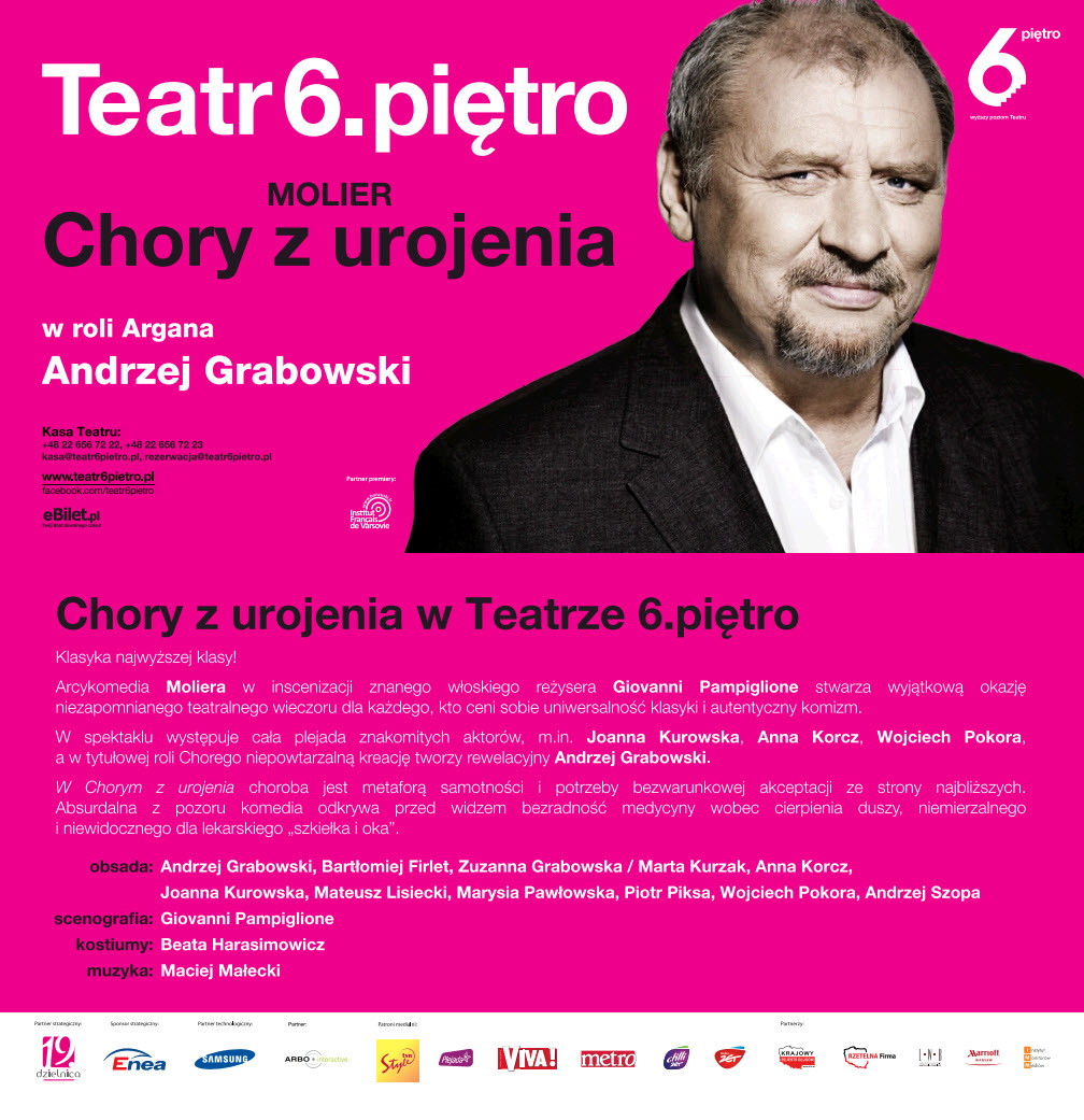 Teatr 6 Pietro 2-22-14 Copernicus Center Chicago