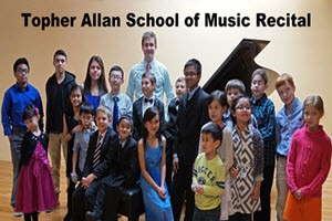 Topher Allan School of Music Recital