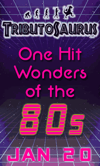 Tributosaurus Signature Series: One Hit Wonders of the 80s, Tributosaurus One Hit Wonders of the 80s, 1980s kits, 80s music, Tribute, One Hit Wonders of the 80s, Tributosaurus live concert, Chicago events, live music, Copernicus Center in Chicago, January 20 2019, 1/20/2019