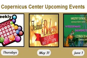 Upcoming Events at the Copernicus Center