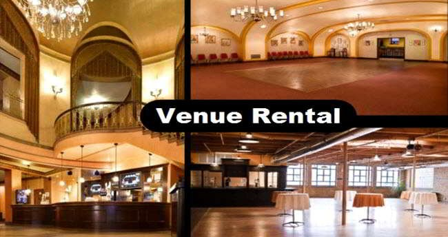 Venue Rental in Chicago