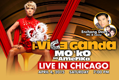 vice ganda, praybeyt benjamin, showtime, unkabogable, gandang gabi vice, filipino concert, comedy concert, Chicago, Copernicus Center