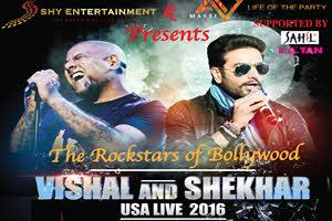 Vishal & Shekhar Live 2016