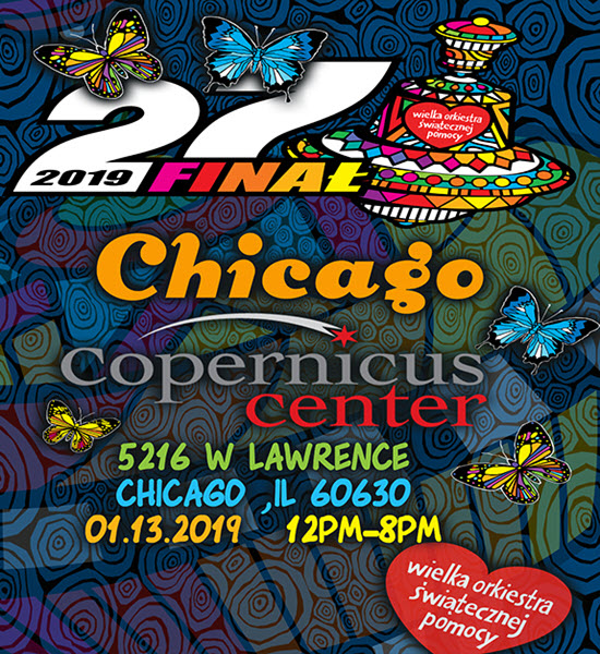Wosp 2019 Chicago Copernicus Center 13 January 2019