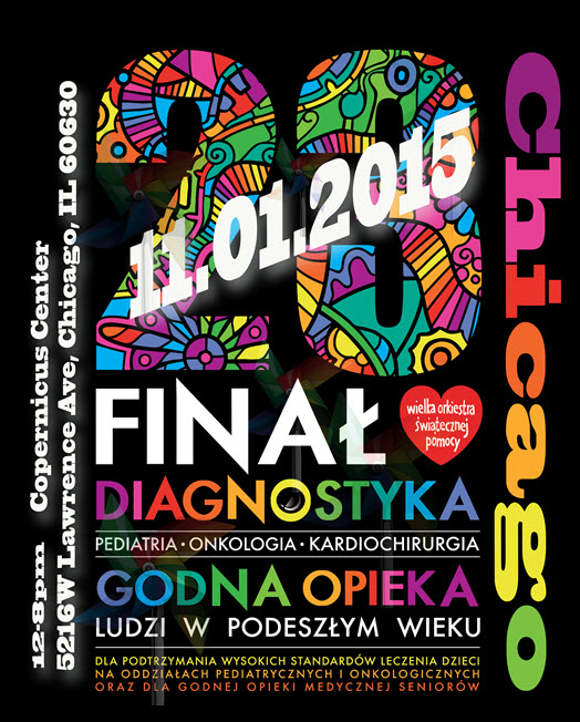 WOSP, Chicago, live bands, fundraiser, Polonia, polskie imprezy, Copernicus Center