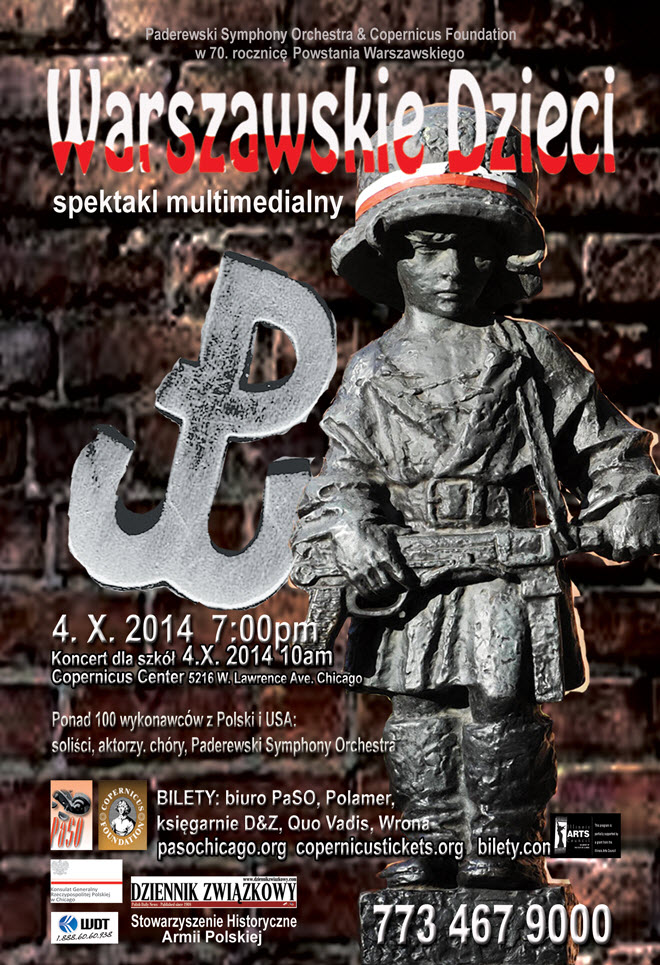 spektakl multimedialny | Concert | Chicago | PASO | Copernicus