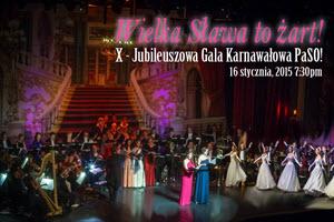 X Jubileuszowa Gala Karnawałowa PaSO