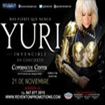 21 de Noviembre, Chicago, Invincible Tour, Latin Events, Reventon Promotions, Yuri, Yuri En Concierto