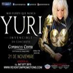 21 de Noviembre, Chicago, Invincible Tour, Latin Events, Reventon Promotions, Yuri, Yuri En Concierto