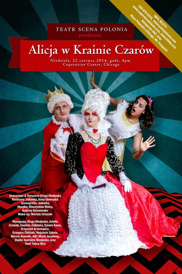 Teatr Scena Polonia Alicja w Krainie Czarów