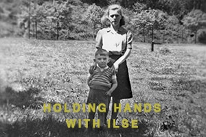 Holding Hands with Ilse